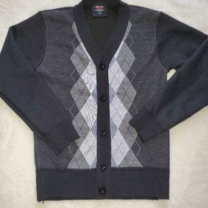 Youth cardigan long sleeves sweater